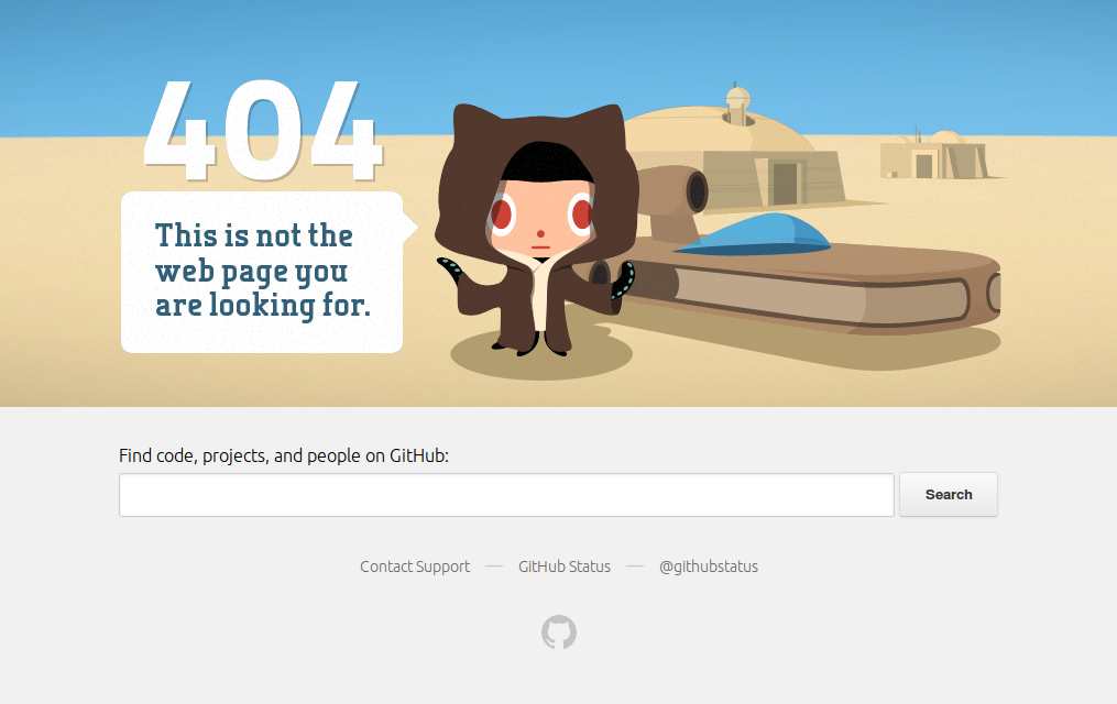 GitHub: a case study in link maintenance and 404 pages · Chris Morgan